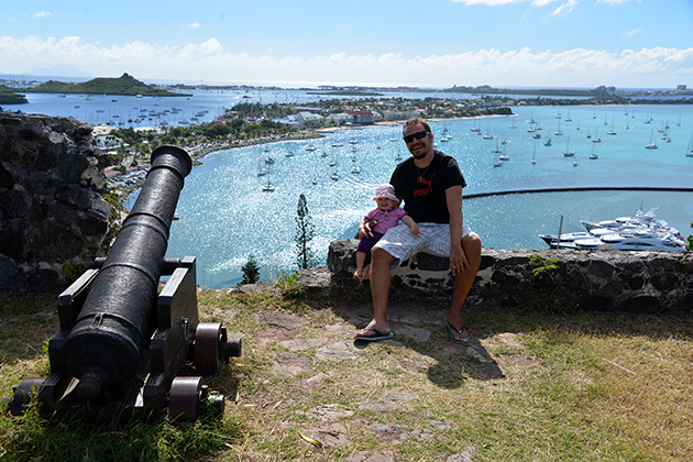 Marigot - saaren ranskanpuoleisen osan pääkaupunki