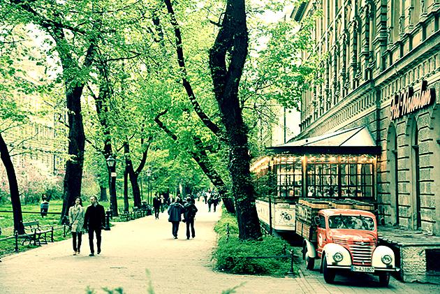 Kevätpäivä Krakovassa