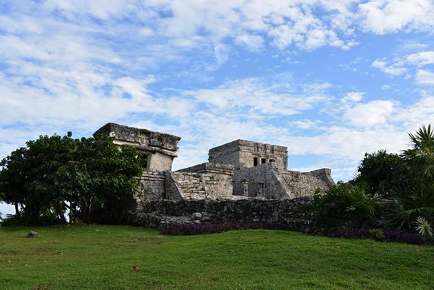 El Castillo -linnoitus - Tulum