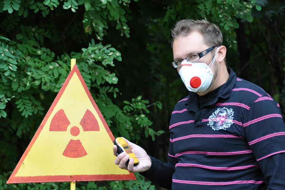 Nuclear Zone - halutessaan sai käyttää suojamaskia alueella