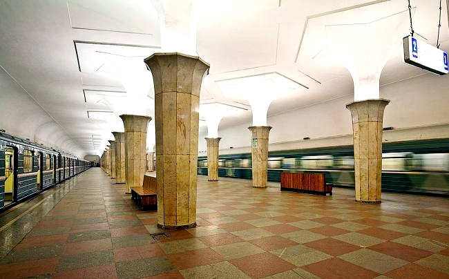 Kropotkinskayan asemalaiturit
