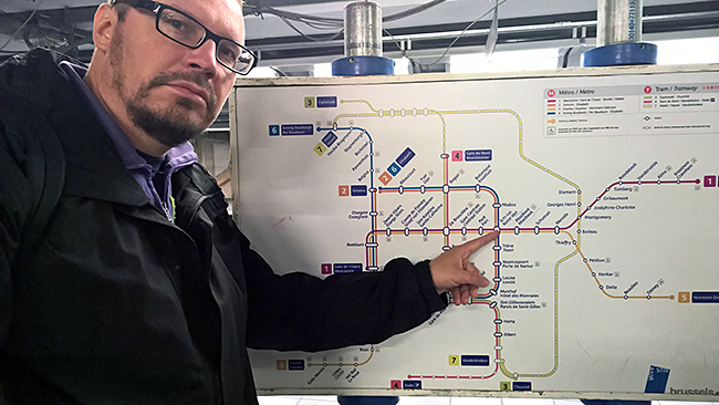 Brysselin metro