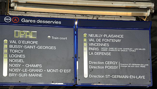 Pariisin opastauluja
