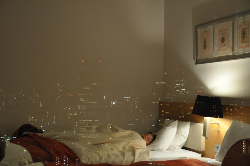 Tokiossa nukkuminen ei ollut aina yhtä rauhallista.