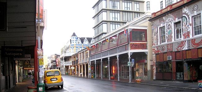 Long Streetin varrelta löytyy ravintoloita moneen makuun