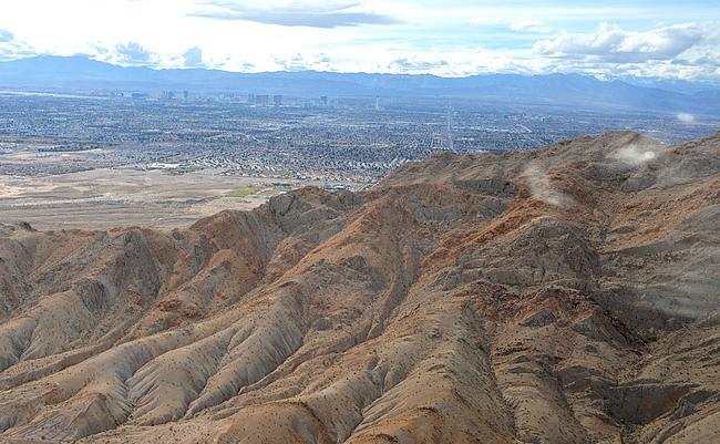 Las Vegas on rakennettu keskelle aavikkoa
