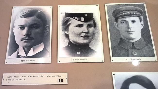 Suomalaisia tovereita oli myös muistettu