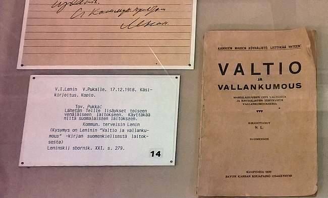 Leninin kirjoittamat kirjeet olivat mielenkiintoista luettavaa