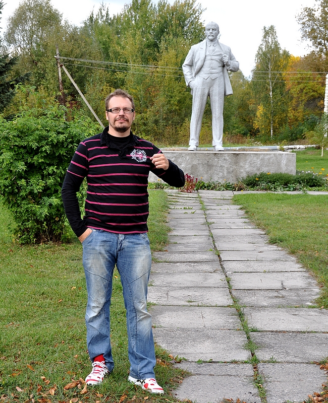 Lenin x 2 Chernobylissä