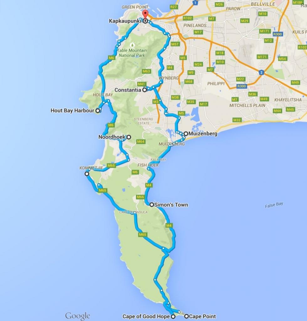 Reittiehdotus omalla autolla (napsauta kuvaa, niin kartta aukeaa Google Mapsiin)