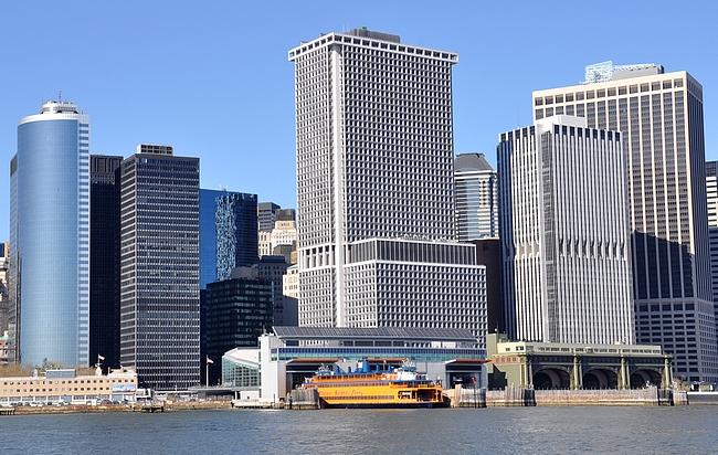 Staten Islandin lautat lähtevät Manhattanin eteläkärjestä.