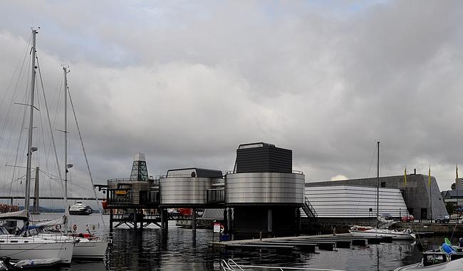 Stavangerissa tuli viimeksi öljymuseo nähtyä vain ulkoapäin.