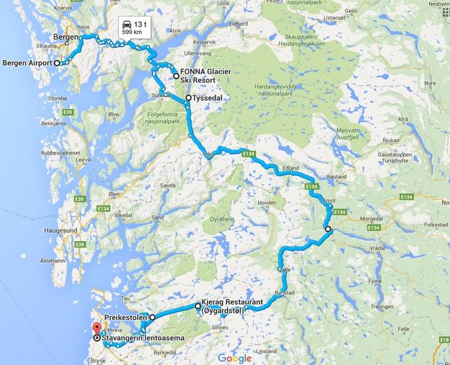 Norjaan Patikoimaan Kuvien Perusteella Kohteena Maailma