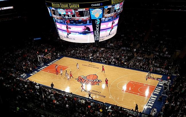 Madison Square Garden remontin jälkeen.
