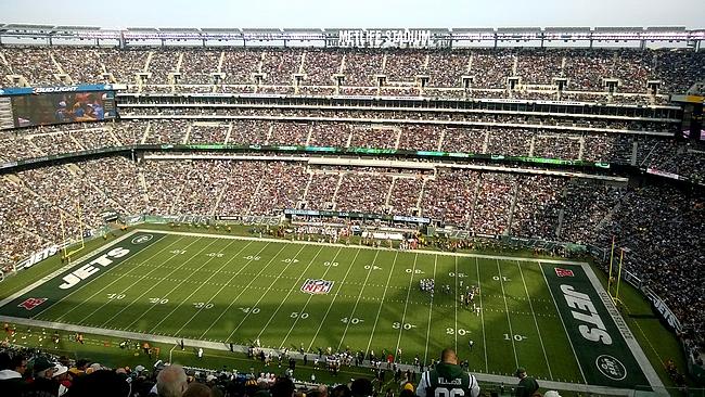 MetLife Stadium - Jetsin väreissä