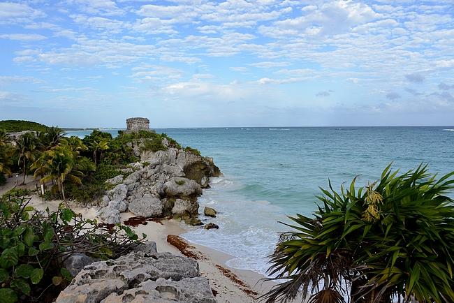 Tältä paikalta on otettu useita kuvia, jolla Jukatanin niemimaata mainostetaan turisteille.