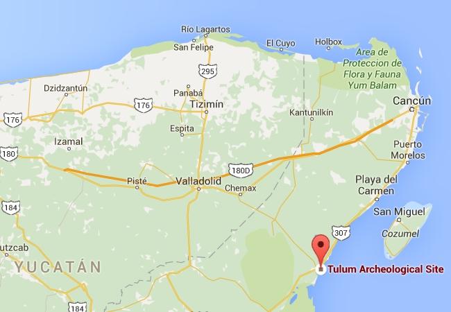 Napsauta karttaa avataksesi Google Mapsin