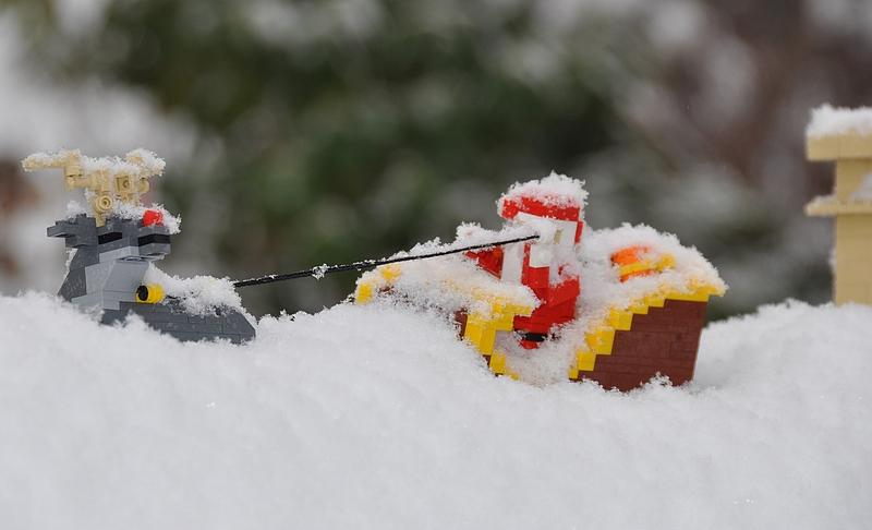 Legolandin joulukoristelut olivat mielenkiintoiset, mutta kävijämäärät eivät riittäneet jouluteeman jatkumiseen.