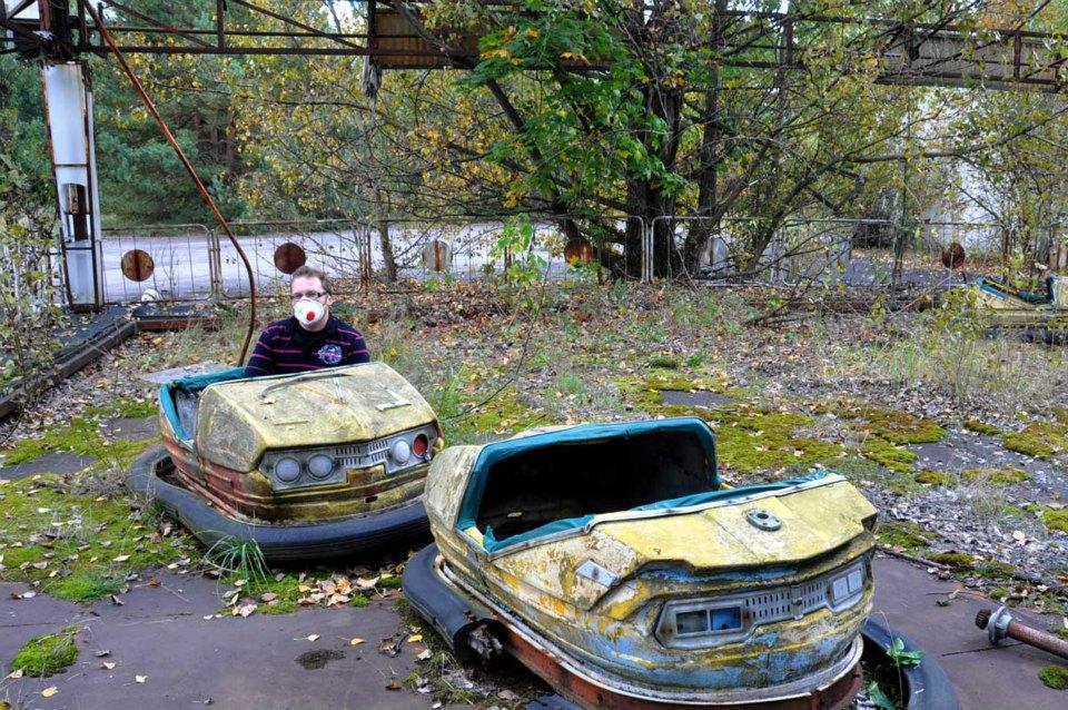 Prypyat - ei ollut isompia jonoja laitteisiin...