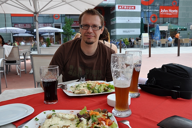 Edelweissillä palautusta Linzissä.