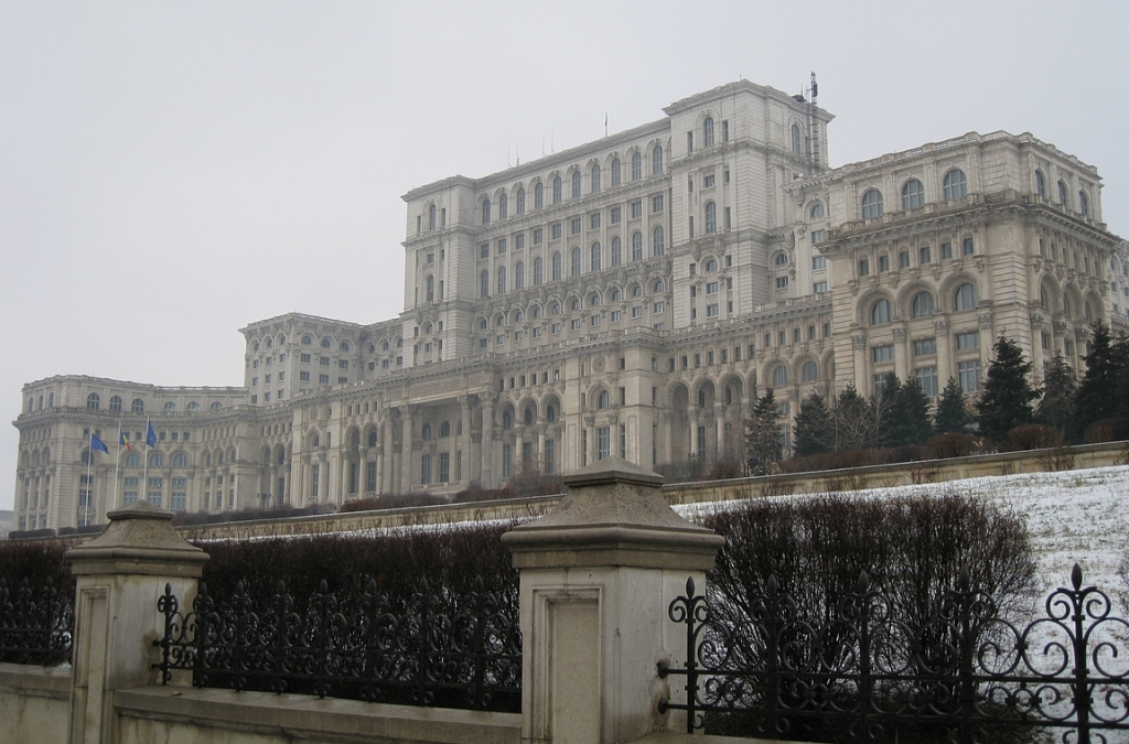 Romanian parlamenttitalo