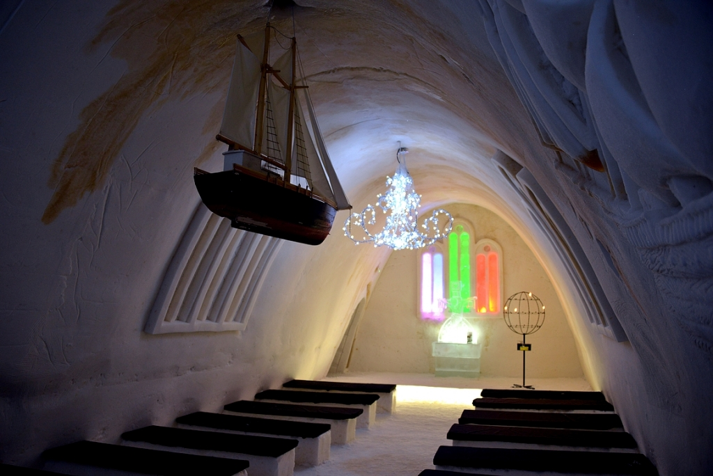 LumiLinnan kappeli.