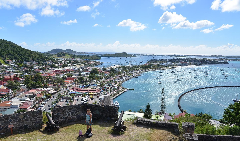 Marigot - saaren ranskanpuoleinen pääkaupunki.
