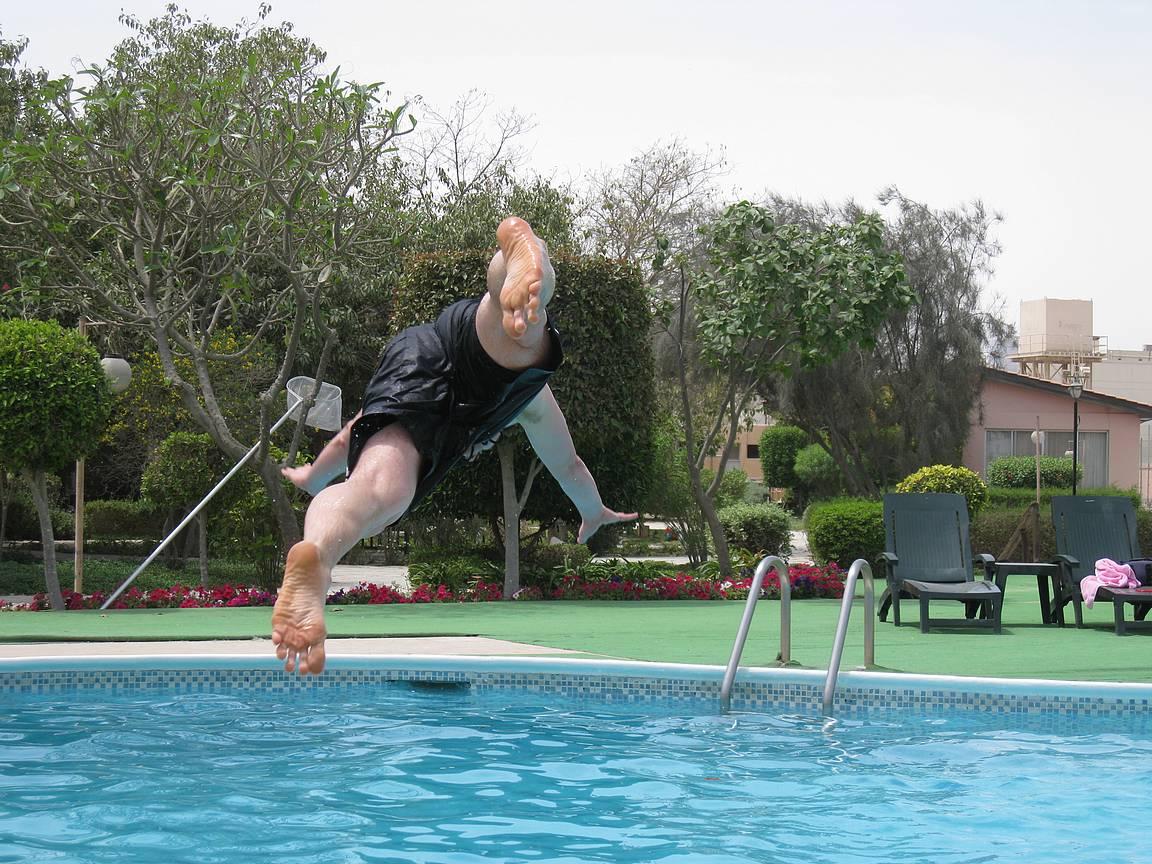40 astetta mittarissa, niin uiminen ainoa mikä virkistää.