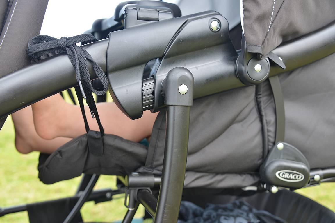 Puolison keksimä patenttiratkaisu takapenkin jalkatilan saattamiseen vaaka-asentoon.