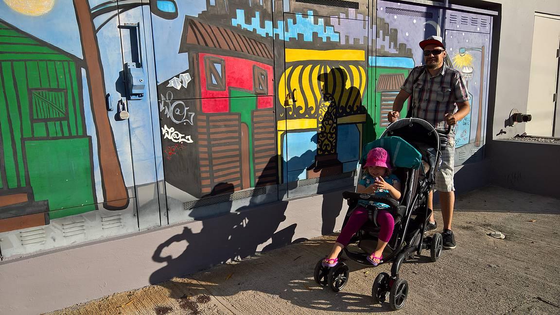 Hyvillä matkarattailla on helppo tutustua maailmaan pienten lasten kanssa.