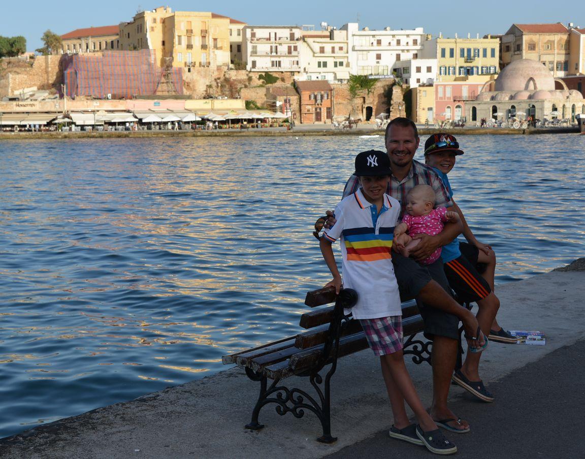 Pakettimatkalla Kreetalla oli mukavaa.