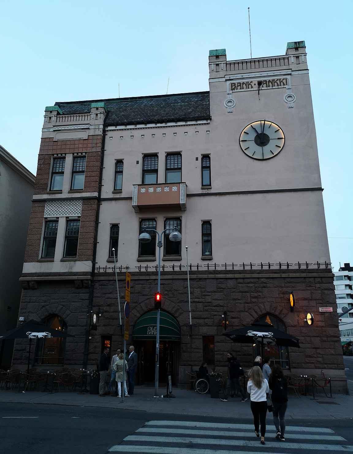 Old Bank on osa Turun olutravintolahistoriaa.
