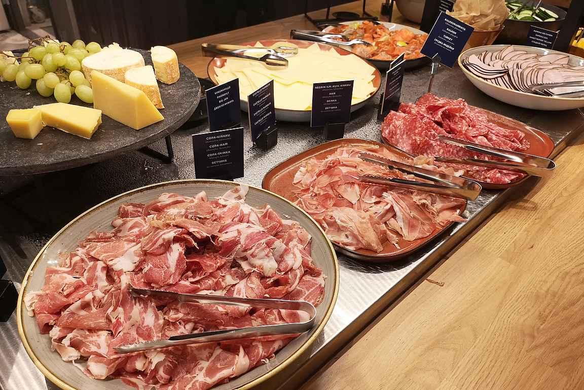 Solo Sokos Hotellien aamupalat ovat omaan makuun erittäin maittavia.