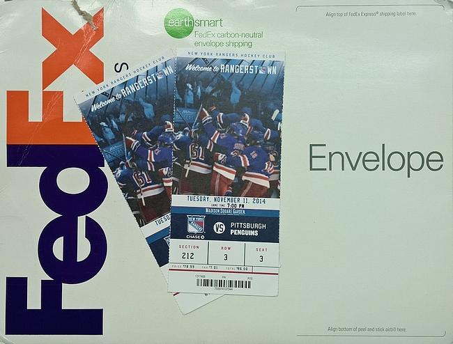 FedEx toimittaa kausikorttilaisten lippuja kotiovelle saakka.