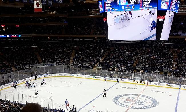 Uusittu Madison Square Garden tarjoaa erinomaiset puitteet keskellä Manhattania.