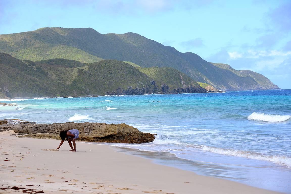 Carambola Beach.