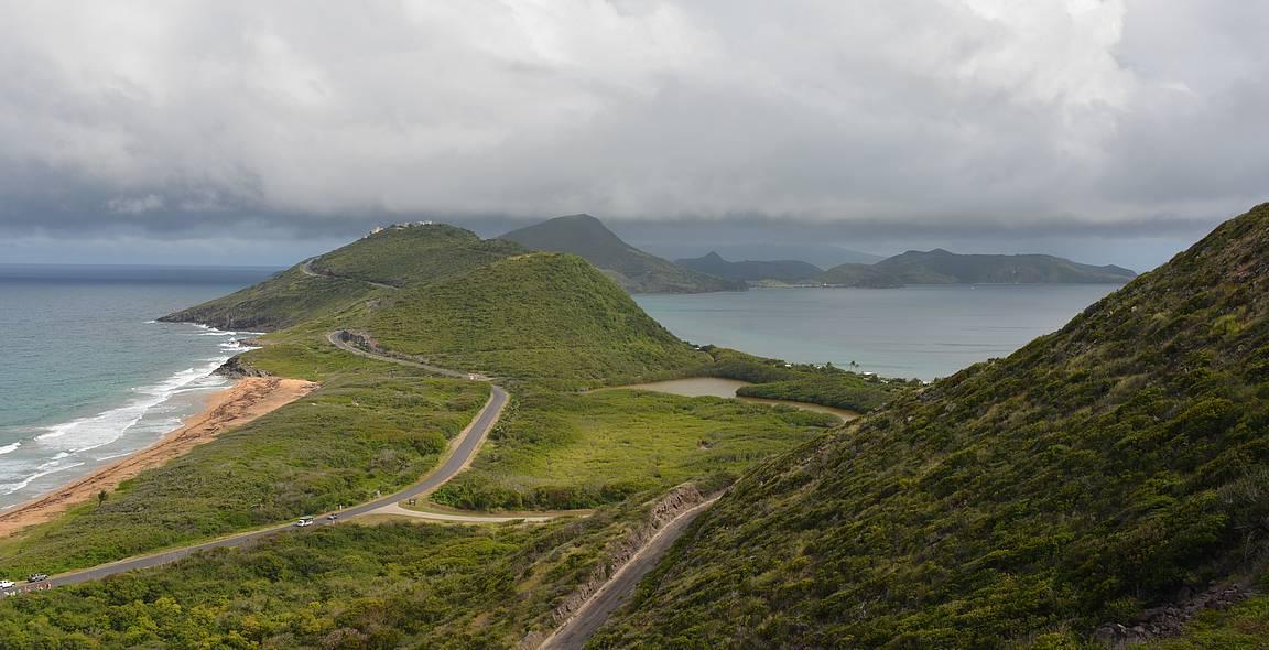 St. Kittsin eteläkärki.