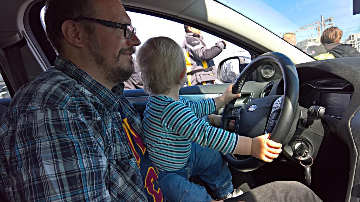 Auto&laiva -yhdistelmä on helppo tapa reissata lasten kanssa Baltiaan.