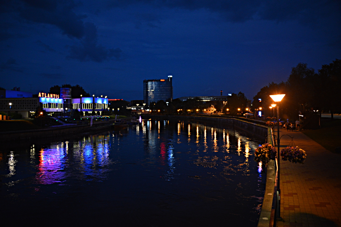 Emajoki by Night.