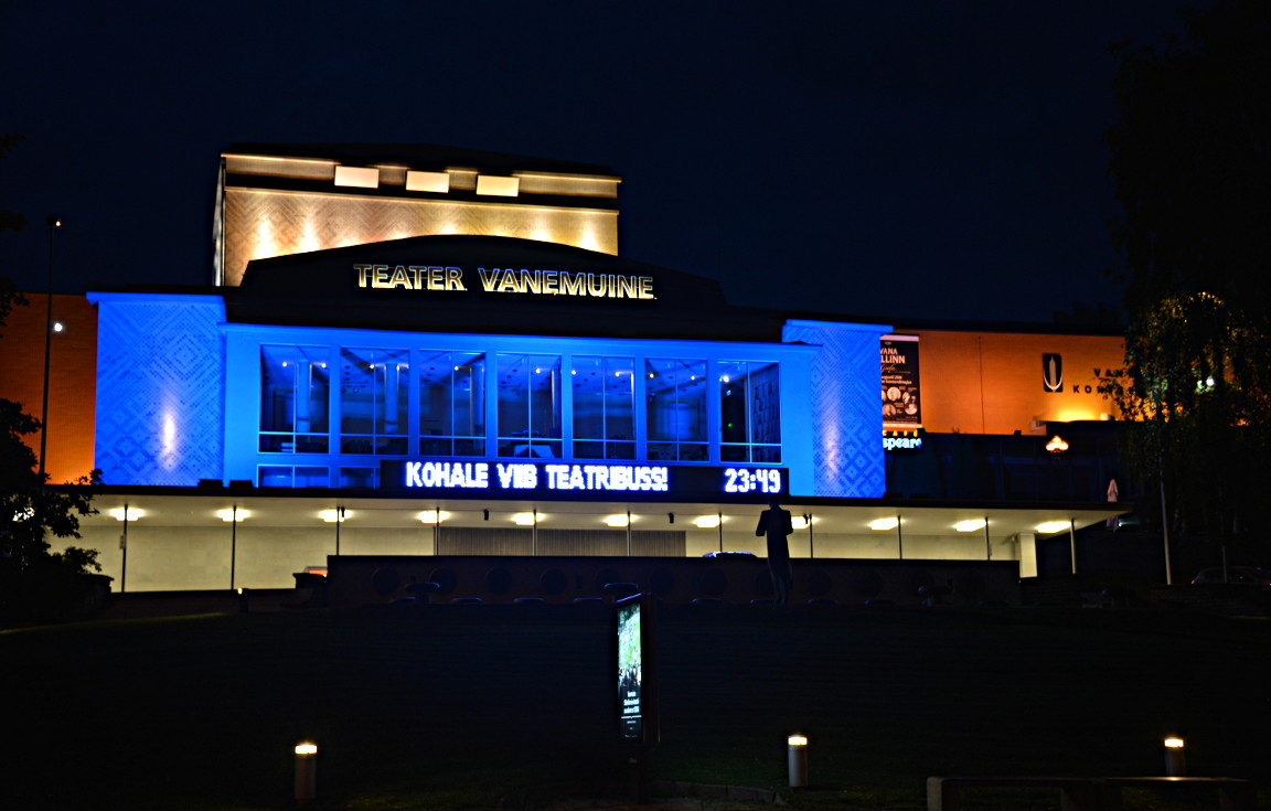 Vanemuine teatteri.