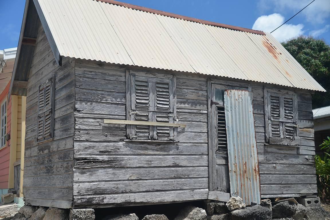 Saarikierroksella nähtiin myös Barbadoksen vanhin rakennus.