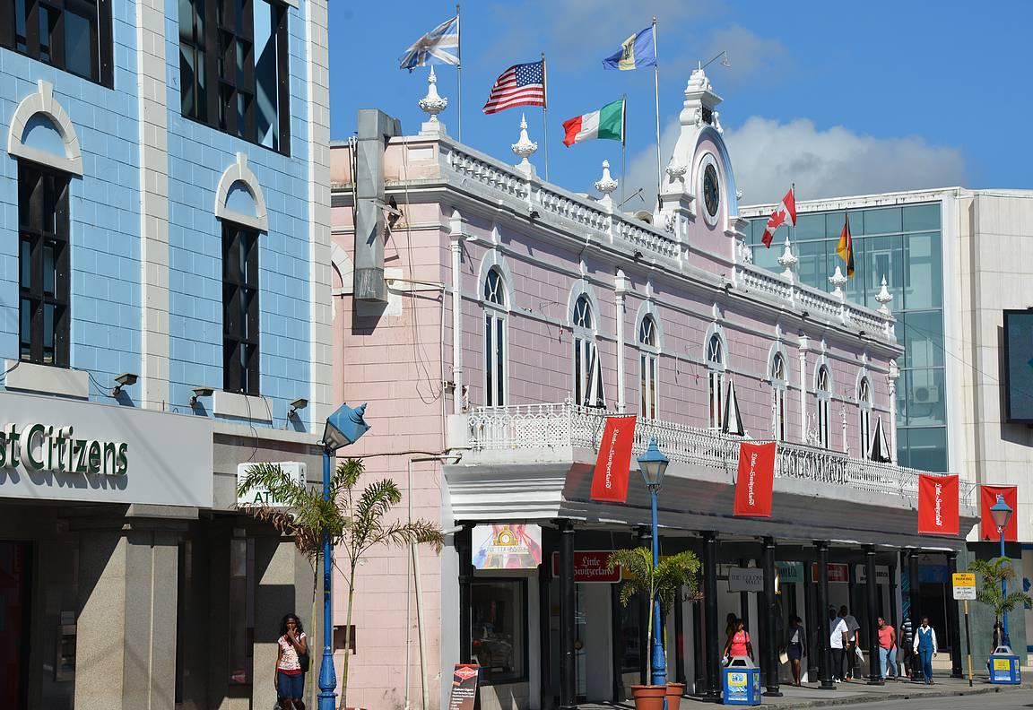 Bridgetown on Barbadoksen pääkaupunki.