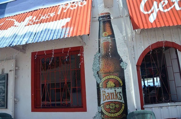 Banks on Barbadoksen oma olutmerkki.
