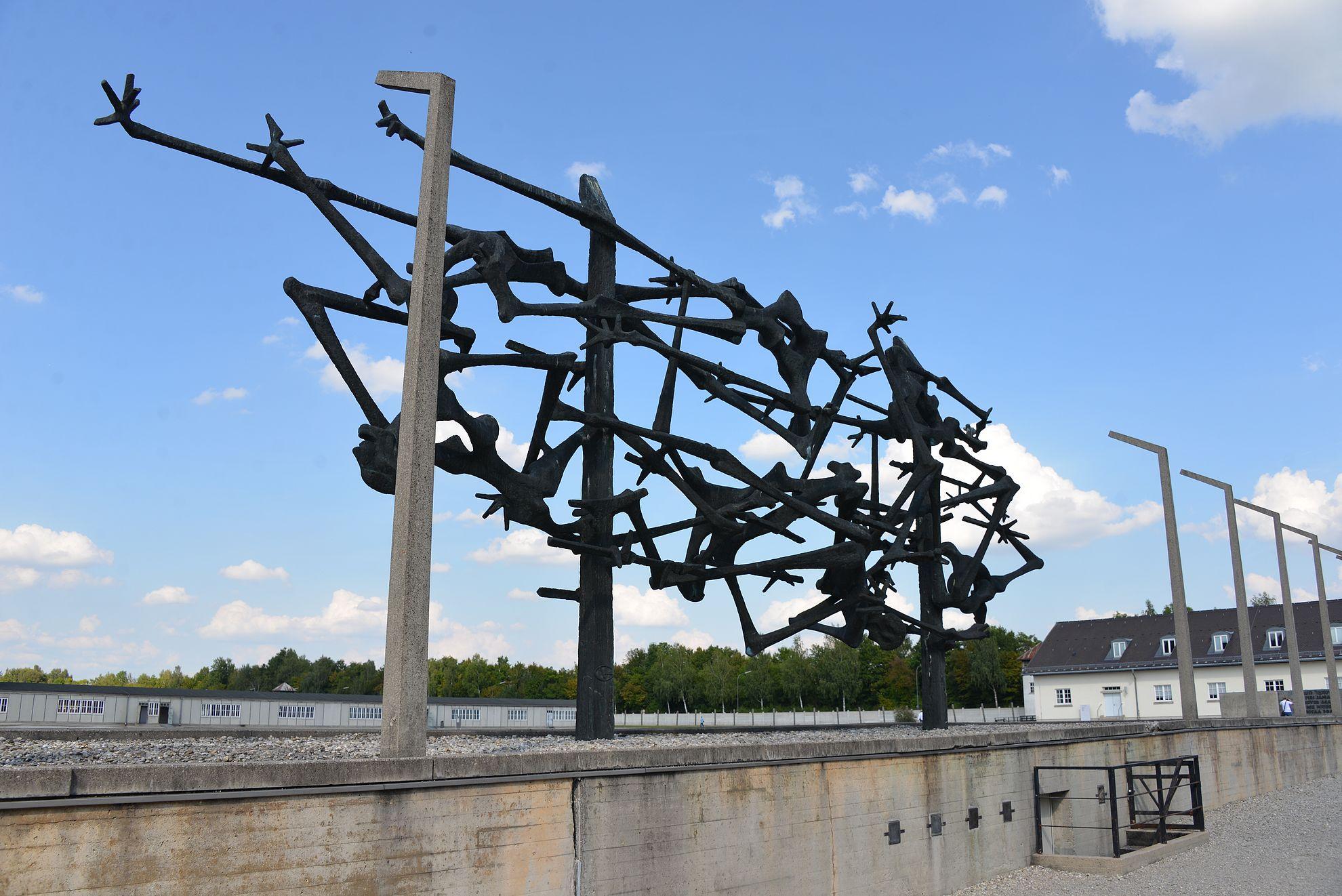 Dachau Natsi Saksan Ensimmainen Keskitysleiri Kohteena Maailma