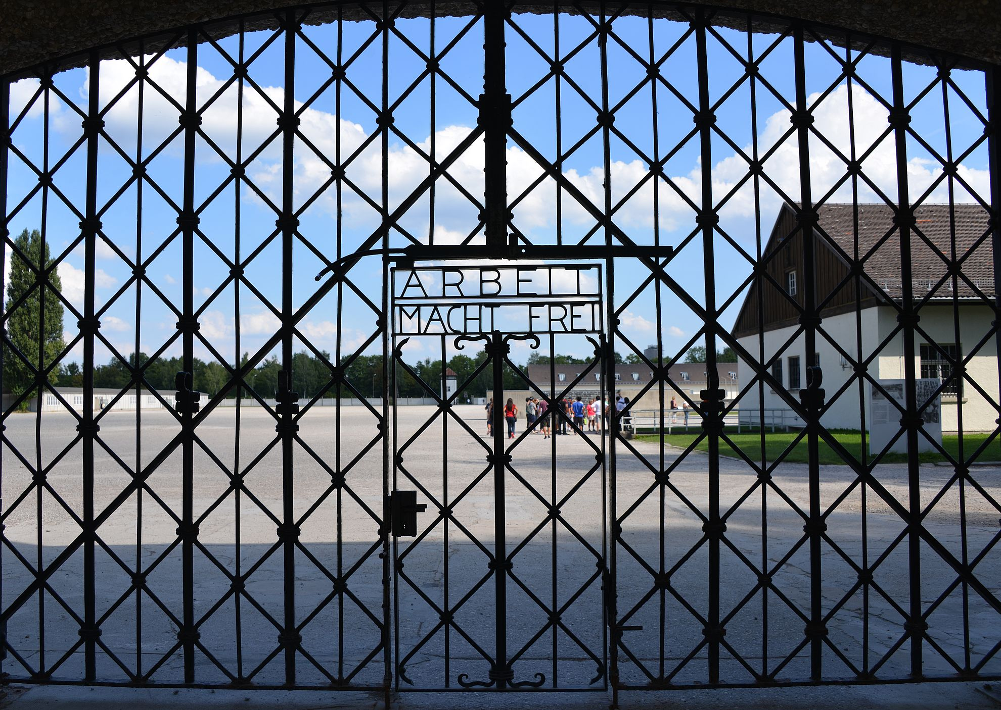 Dachau - Arbeit Macht Frei.