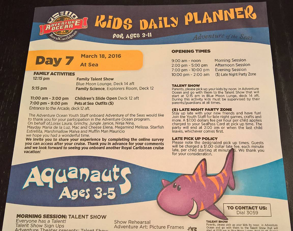 Kids Daily Planner.