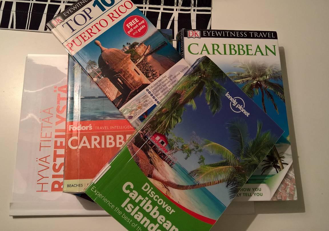 Perinteiset matkaoppaat kohdesatamia varten ja itse risteilyä varten We Love Cruisesin Hyvä tietää risteilystä -opas matkalle mukaan.