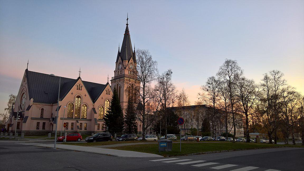 Kemin kirkko on Josef Stenbäckin suunnittelema ja valmistui vuonna 1903.