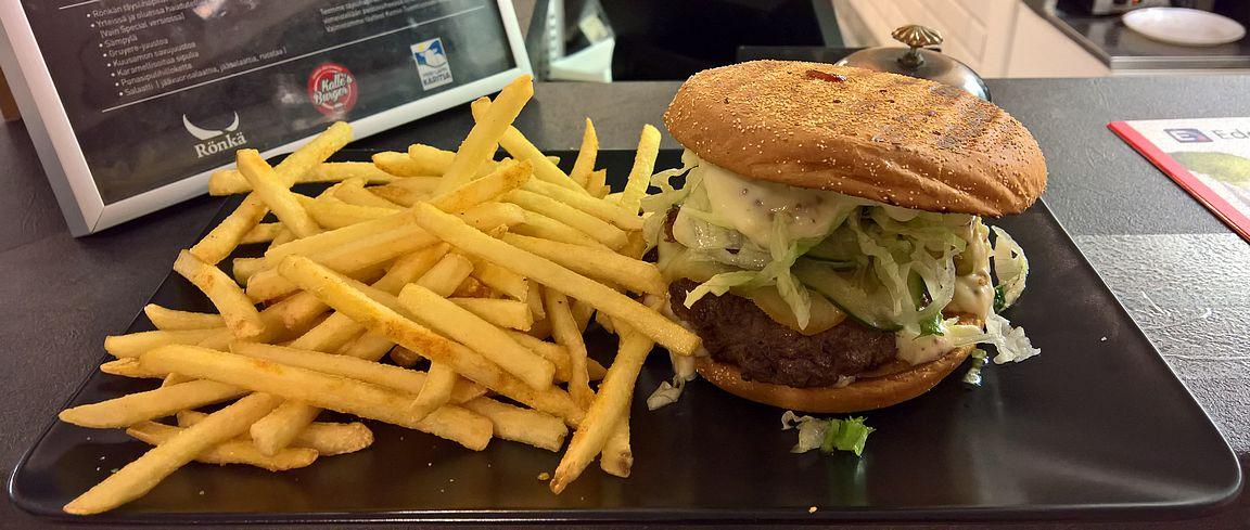 Paras syömäni burger vähään aikaan! Kuinka hyvä Kemi Special Burger olisikaan...