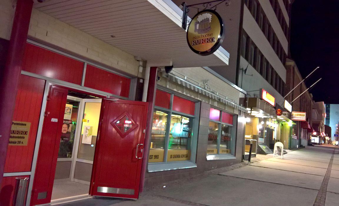 Olutravintola Kukko - oluenystävän illanviettopaikka.